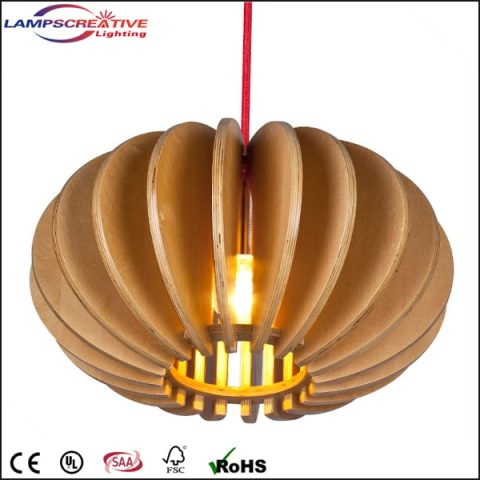 wooden lighting. 2015 New Design Hanging Pendant Lamp Made By Plywood LCP-AXA Wooden Lighting
