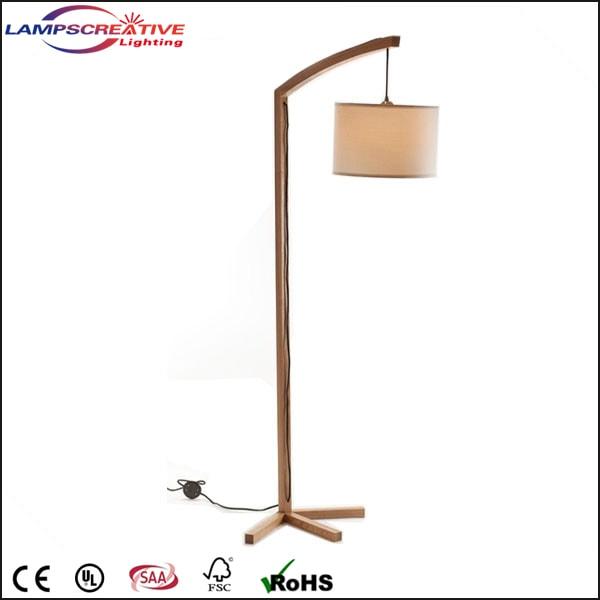 House Hotel Floor Lamp Modern Wooden Floor Lamp Lcd Afd Wooden