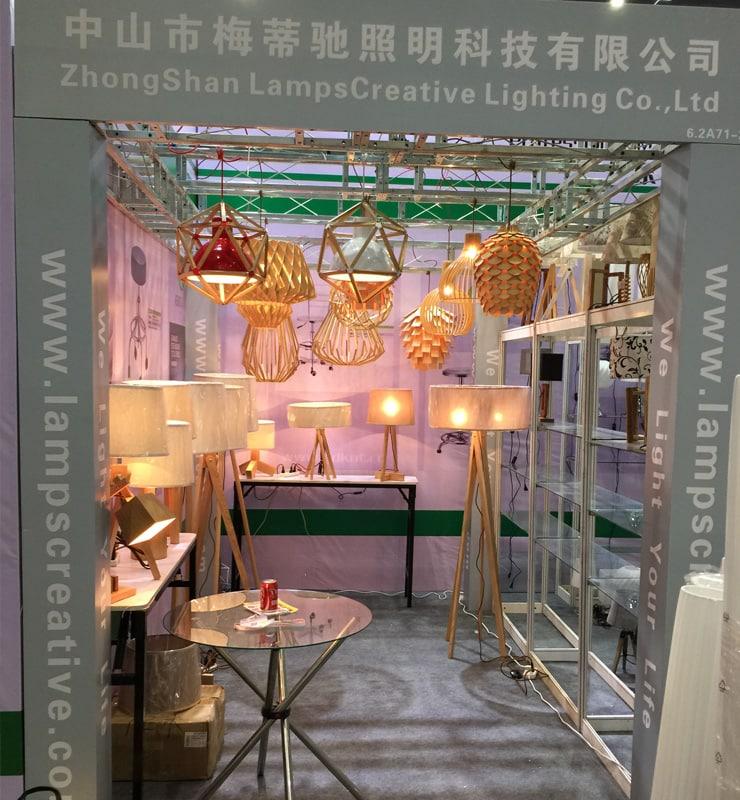 2015 september china shanghai fair wooden lamp manufacturer